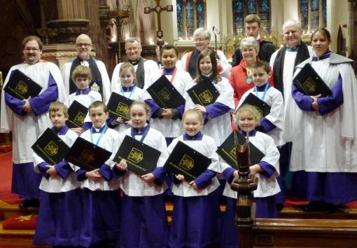 The Cathedral Choristers