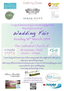 wedding fair 2014 draft poster
